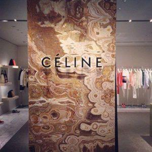 Celine Store Interior